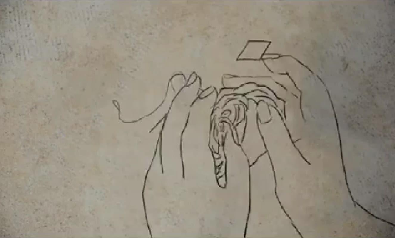 Yara Kassem Mahajena, Circumcision, 2015. Animation. 0:26 min. © The artist